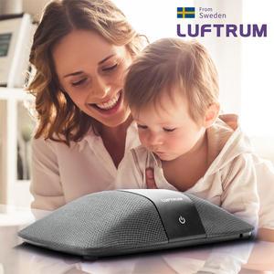 瑞典LUFTRUM 可攜式智能空氣清淨機 時尚灰 401A-2【亞克】