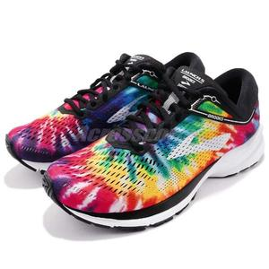 ade41867b75a1 Brooks 慢跑鞋Launch 5 搖滾馬拉松綁染限定款男鞋彩色運動鞋