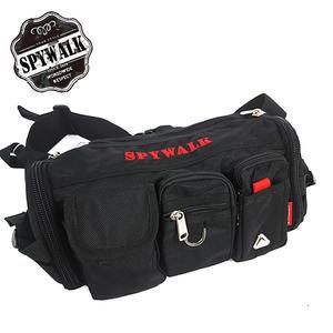 腰包 SPYWALK城市達人多夾層三插袋可斜背兩用休閒袋腰包 NO:S8075