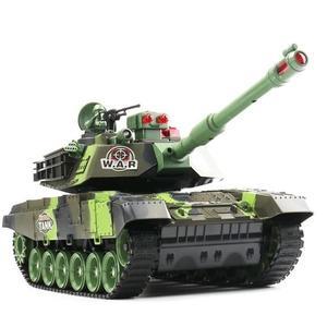遙控坦克超大號親子對戰可發射充電動兒童越野玩具履帶式男孩汽車-新年聚優惠
