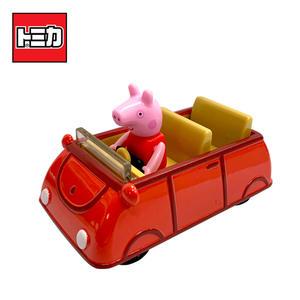 【正版授權】TOMICA 騎乘系列 佩佩豬 x 家庭車 玩具車 Peppa Pig 粉紅豬小妹 多美小汽車 - 131267