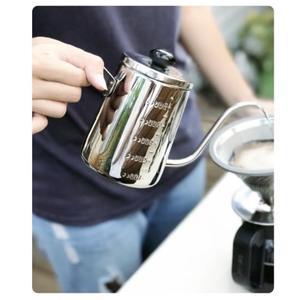 Driver NEW 細口壺-附水位線550ml 咖啡 手沖壺