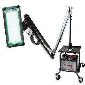 汽修怪手 5W活動機械臂式LED工作燈 超省電可使用回收電瓶