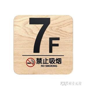 樓提示牌數字貼樓層牌壓克力號碼牌樓棟牌門牌定制索引牌標識牌標牌 探索先鋒