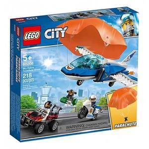 樂高積木 LEGO《 LT60208 》City 城市系列 - 航警降落傘追捕╭★ JOYBUS玩具百貨