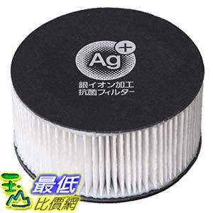 [東京直購] IRIS OHYAMA CF-FHK2 除塵蟎機配件 白色 銀離子抗菌過濾網 KIC-FAC2 適用CF FHK2