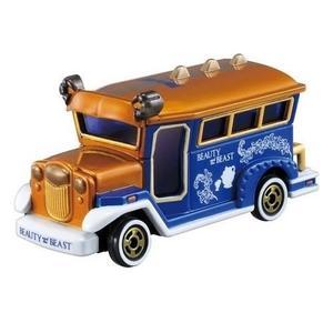 TOMICA多美迪士尼小汽車 美女與野獸 老爺車 日本 7-11 限定特別仕檥車 88922 Disney motors