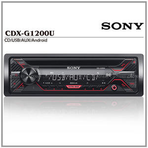 【愛車族購物網】SONY CDX-G1200U CD/USB/FM/AM/MP3/WMA/FLAC/AUX/Android 音響主機