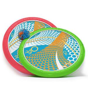 「促銷最低價」美國【OgoSport】彈力迷彩飛盤蹦蹦球組FORA III (紅綠)