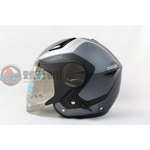 [中壢安信]ZEUS瑞獅安全帽 ZS-612A ZS612A AD4 抗刮消光鐵灰銀 安全帽 半罩式安全帽