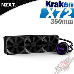 [ PC PART ] 恩傑 NZXT Kraken X72 水冷散熱器