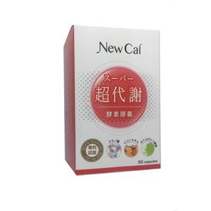 【JC Beauty】New Cal 超代謝酵素膠囊 (60顆/盒)