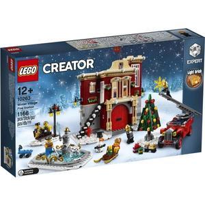 樂高LEGO CREATOR 冬季消防局 10263 TOYeGO 玩具e哥