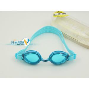 *日光部屋* 黑貂 SABLE (公司貨)/ SB-606-藍 5~9歲/小黑貂兒童泳鏡