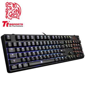 曜越 Tt eSPORTS 波賽頓 Z RGB全彩背光-青軸機械式 電競鍵盤