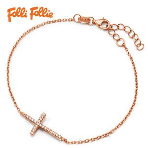 Folli Follie FASHIONABLY SILVER系列手環