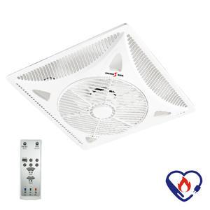 派樂嚴選 DC直流輕鋼架循環扇SH-14SD (附遙控器)天花板循環扇 冷氣空調扇 節能電風扇