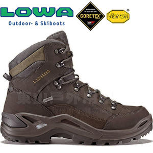 Lowa 310945-9784棕/綠 男Gore-Tex多功能健行鞋 Renegade GTX黃金大底登山鞋/軍用靴