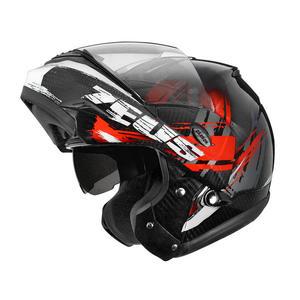 ZEUS瑞獅安全帽,碳纖維安全帽,ZS3500,YY4紅