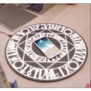 魔法陣充電器 無線魔法陣充電器蘋果x三星S9手機小米mix2siPhone8plus通用 第六空間