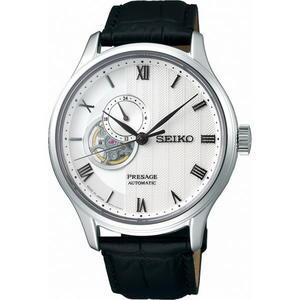 【台南 時代鐘錶 SEIKO】精工 PRESAGE 羅馬時標開芯機械錶 SSA379J1@4R39-00W0P 皮帶 42mm