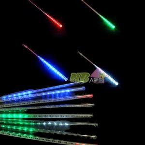 七彩LED流星雨燈 (30CM/8條) ~聖誕燈、燈泡串、燈串、燈飾