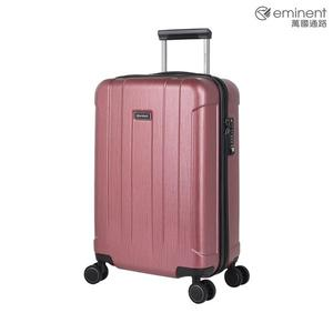 eminent【諾維亞】絢麗時尚拉絲PC行李箱 20吋(紅色拉絲)KG95