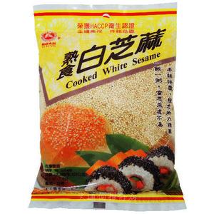 義峰 熟食白芝麻 220公克
