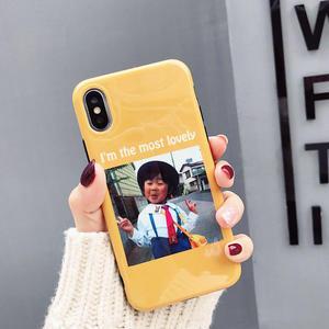 iPhoneX手機殼 可掛繩 日本搞怪可愛小學生 矽膠軟殼 蘋果iPhone8X/iPhone7/6Plus