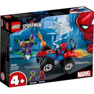 樂高LEGO SUPER HEROS 蜘蛛人車追趕 76133 TOYeGO 玩具e哥