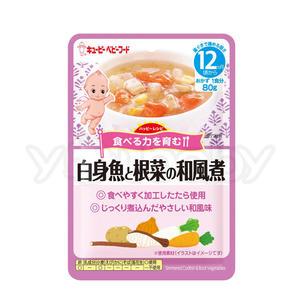 日本 Kewpie HR-15 隨行包 蔬菜鱈魚和風煮