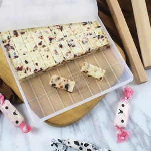 手工做牛軋糖模具套裝牛紮糖切割工具雪花酥模具不黏盤烘焙家用【閒居閣】