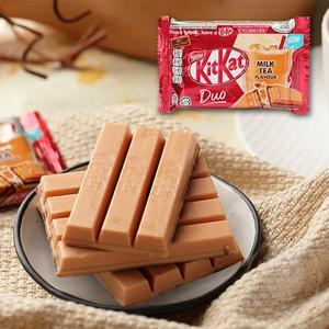 泰國 kitkat 巧克力威化條(泰式奶茶風味)35g【庫奇小舖】