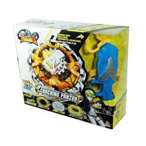 颶風戰魂陀螺  高級系列-裂地重甲(黃色-大盒)(YM634404)←戰鬥陀螺 發射器 陀螺盤 益智