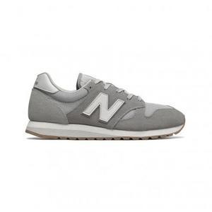 NEW BALANCE 520 男鞋 女鞋 慢跑 訓練 麂皮 網布 透氣 灰 白 【運動世界】U520AF
