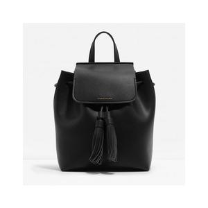 現貨 Charles & Keith TASSELLED BACKPACK後背包