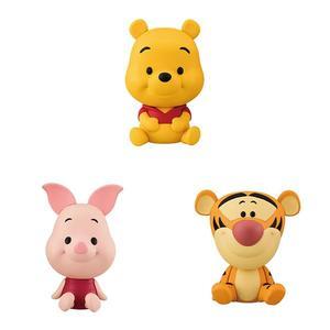 小熊維尼 Pooh BANDAI 萬代 扭蛋轉蛋 角色公仔 第三彈(一套全三種)