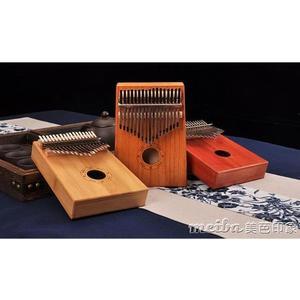 拇指琴 卡林巴琴 17音樂器kalimba琴初學者便攜式入門手指琴 美芭