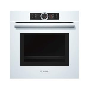 【甄禾家電】(期貨)BOSCH 博世 Serie8 HNG6764W1 嵌入式烤箱 白色系 複合式微波蒸氣烤箱