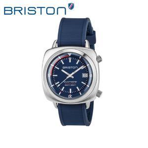 BRISTON 手錶 原廠總代理  17642-S-D-15-RNB  深藍色 時尚矽膠運動機械錶 男女 生日情人節禮物