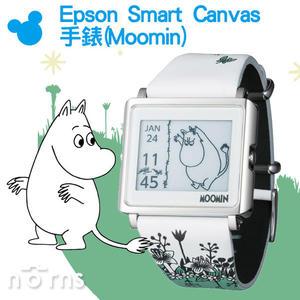 【Epson Smart Canvas 手錶(Moomin)】Norns 電子錶 日台限定 卡通錶 姆敏 嚕嚕米