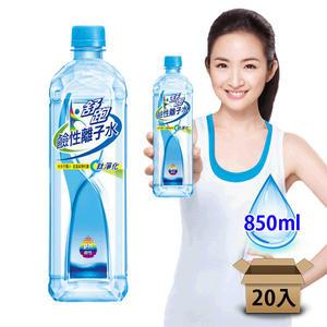 ●舒跑鹼性離子水850ml-2箱(40瓶)【合迷雅好物超級商城】