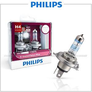 【愛車族購物網】PHILIPS 飛利浦夜勁光 H4-12V-60/55W 3700K 加亮130% 汽車大燈燈泡