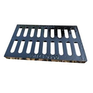 水溝蓋 地溝蓋板球墨鑄鐵廚房排水溝格柵蓋板停車場下水道排水溝蓋板T 1色