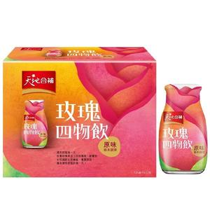 桂格-天地合補玫瑰四物飲原味120ml*6入 大樹