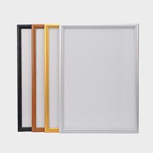 鋁合金海報框掛墻開啟式電梯廣告框架A3營業執照a4大相框畫框定制  酷男精品館