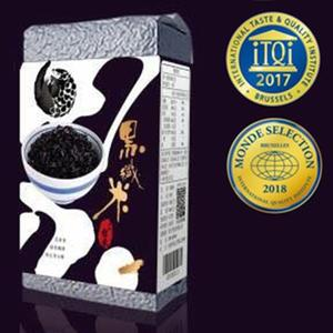 2017米其林獎-源天然黑纖米500g/包(黑米)