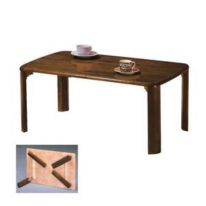 ONE HOUSE-DIY傢俱-實木折疊和室桌/寬2*3尺