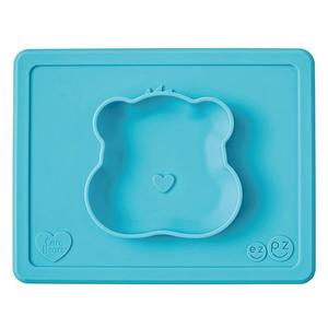 美國 EZPZ HAPPY BOWL Care Bears 聯名餐碗/餐具/安全/無毒/矽膠 願望熊