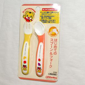 巧虎 巧連智 幼兒學習餐具 正版商品 湯匙 叉子 skater